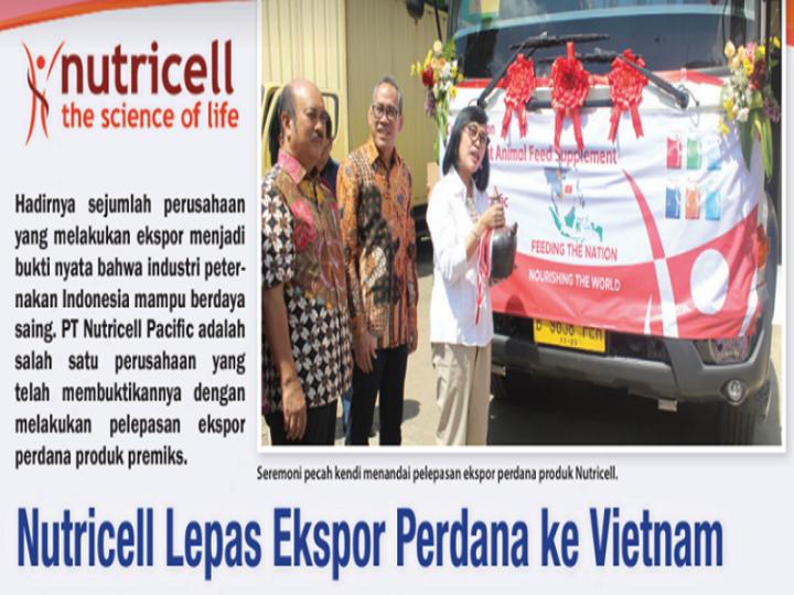 Nutricell Lepas Ekspor Perdana ke Vietnam